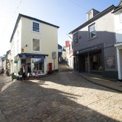 Narrow streets in St Ives