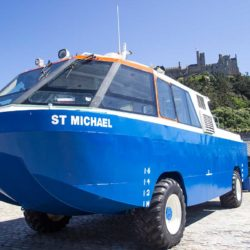 The St Michael, essential travel for the islanders in the winter
