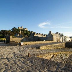 The island village on St Michael's Mount